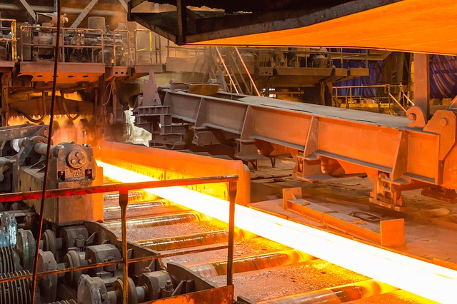 Wilhelm Sander Handel/Anwendungsbereiche/Stahlindustrie